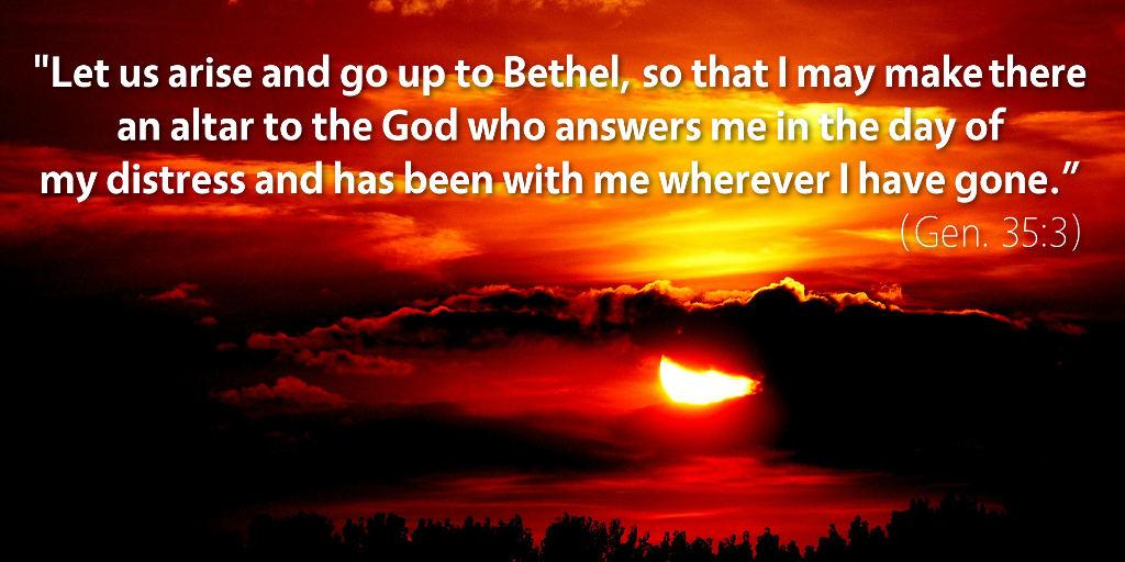February 3rd: Bible Meditation for Genesis 35–36