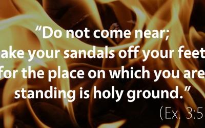 February 20th: Bible Meditation for Exodus 3