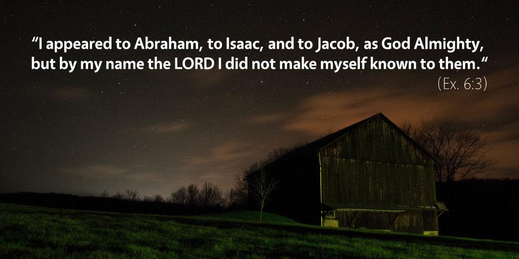 February 23rd: Bible Meditation for Exodus 6
