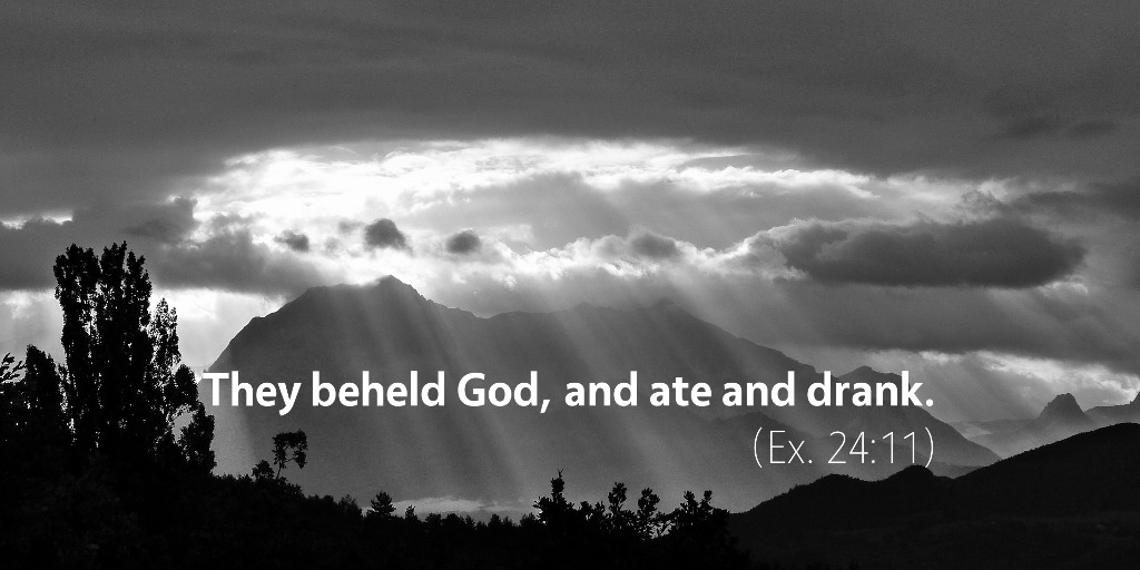 March 13th: Bible Meditation for Exodus 24