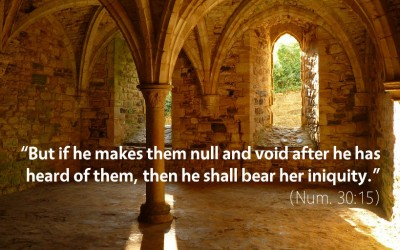 May 21st: Bible Meditation for Numbers 30