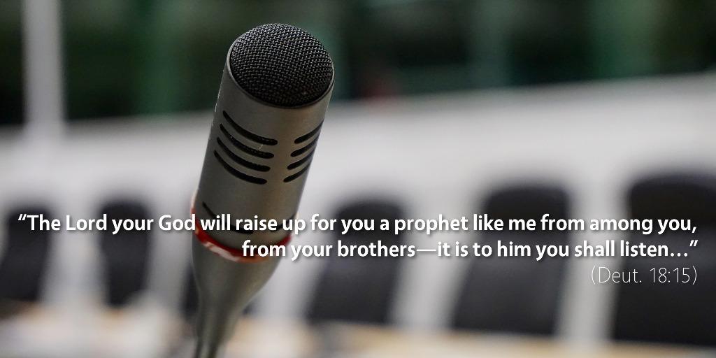 June 13th: Bible Meditation for Deuteronomy 18