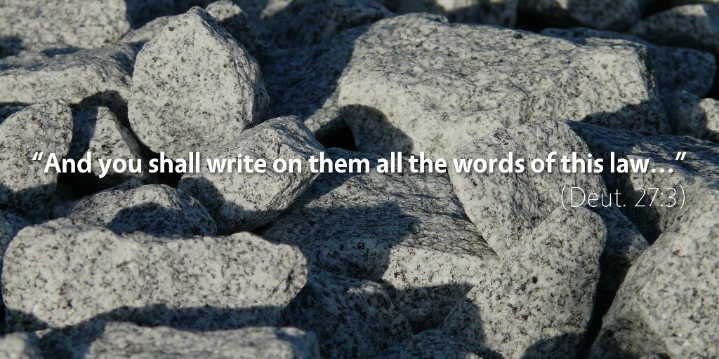 June 22nd: Bible Meditation for Deuteronomy 27