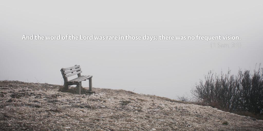 August 13th: Bible Meditation for 1 Samuel 3