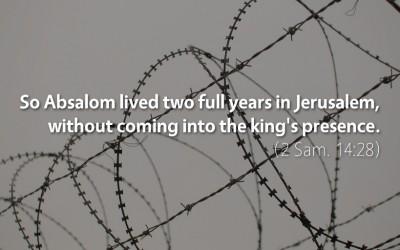 September 18th: Bible Meditation for 2 Samuel 14