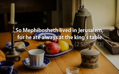 September 13th: Bible Meditation for 2 Samuel 8–9