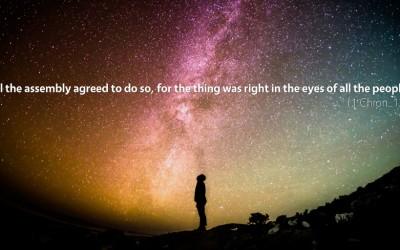 November 19th: Bible Meditation for 1 Chronicles 13–14