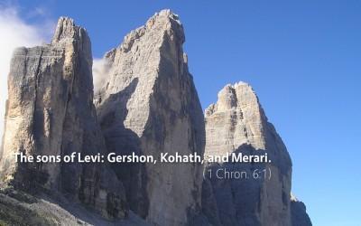 November 15th: Bible Meditation for 1 Chronicles 5–6