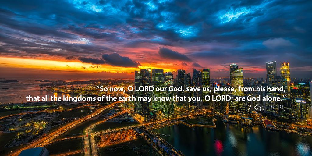 November 6th: Bible Meditation for 2 Kings 19