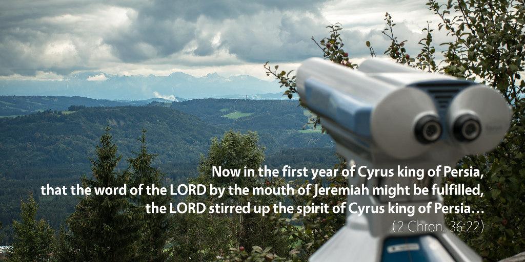 December 31st: Bible Meditation for 2 Chronicles 36